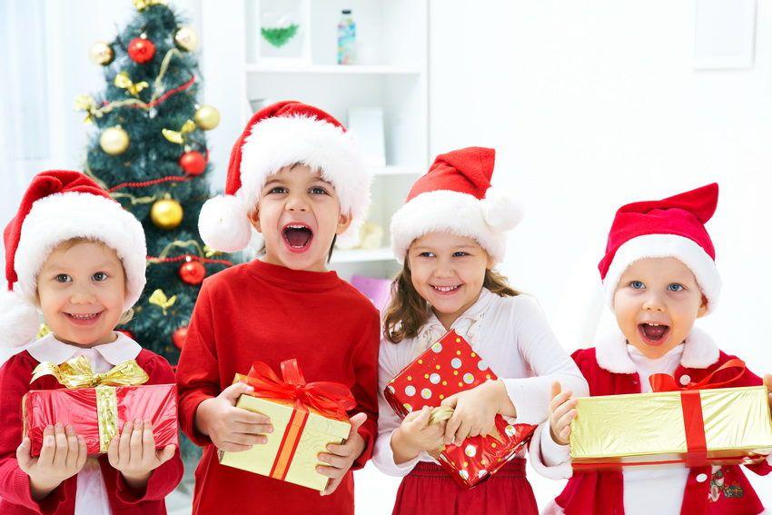 новогодние подарки для детей всех возрастов