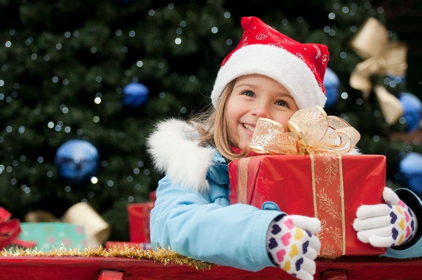 оригинальные новогодние подарки для детей