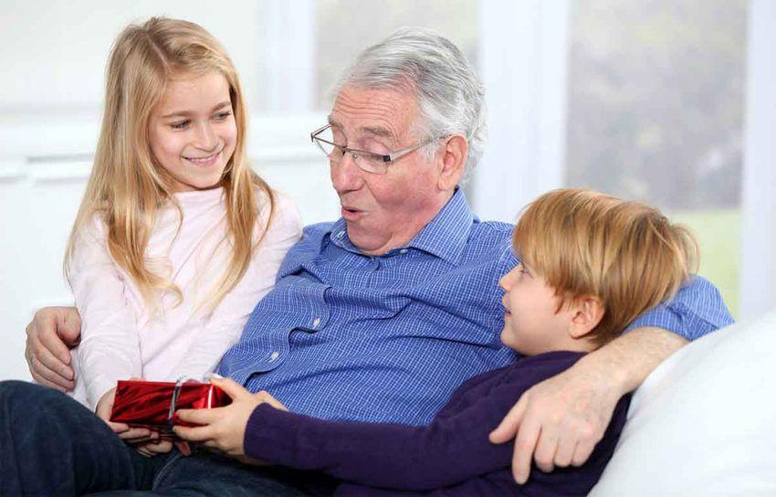 Подарок дедушке на день бабушке и дедушке в России