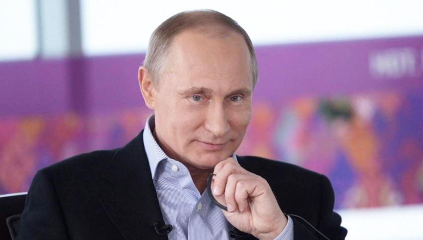 Владимир Владимирович Путин - президент России