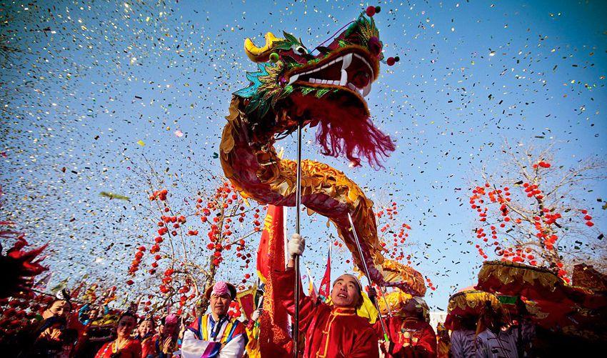 Танец дракона на новый год - когда наступает и заканчивается Китайский Новый год в России в 2018 году - даты празднования