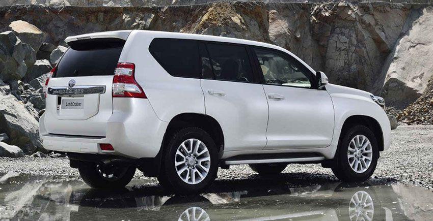 2018 Toyota Prado в новом кузове