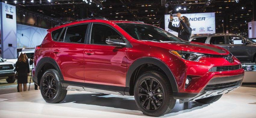 Toyota RAV4 в новом кузове 2018 года - Тойота Рав 4 фото и цены рестайлинга