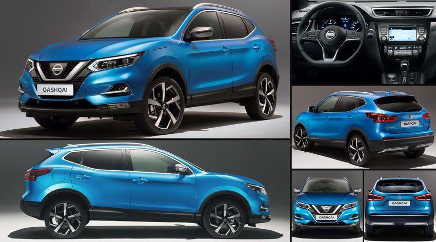 Nissan Qashqai 2018 - цена Ниссан Кашкай в новом кузове - фото авто