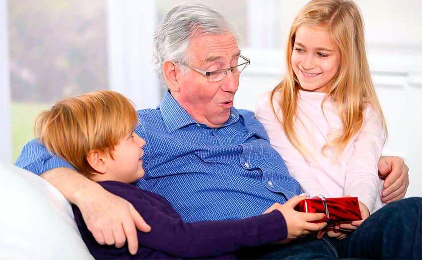Подарок дедушке от внуков на Новый 2018 год
