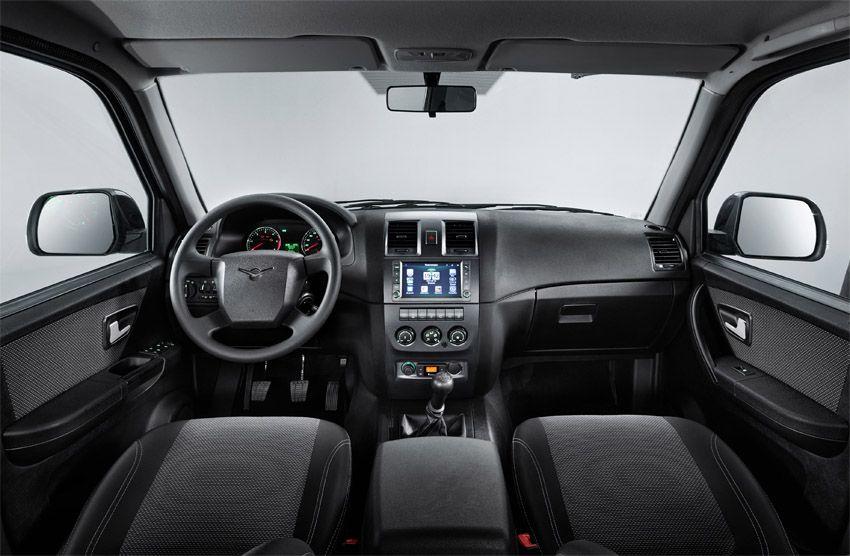 УАЗ Патриот 2018 года - фото интерьера автомобиля