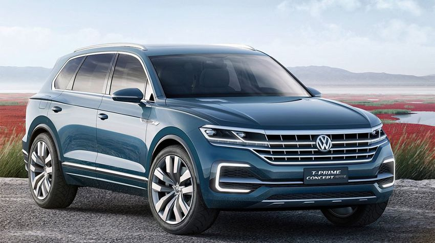 Volkswagen Touareg в новом кузове 2018 года - Фольксваген Туарег фото и цены рестайлинга модели