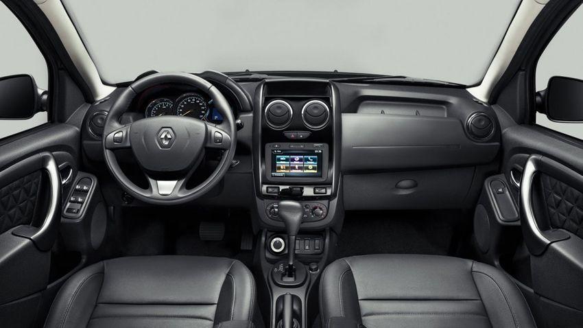Новый Renault Duster 2018 года - фото салона