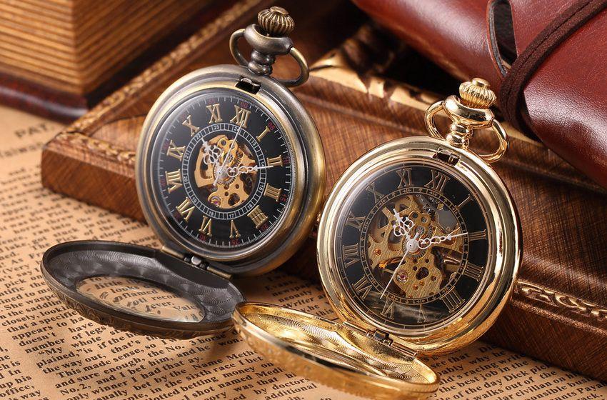 карманные часы в подарок папе на Новый 2018 год