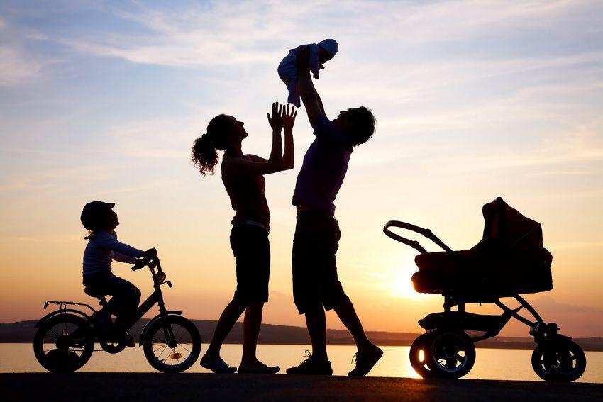 семья с детьми - семейный гороскоп для близнецов на 2018 год