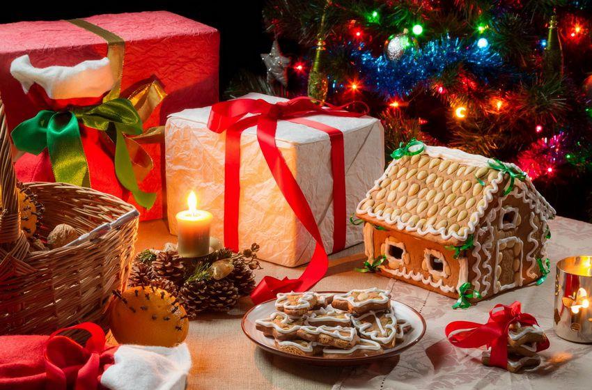 сладости и подарки на Новый 2018 год для мамы