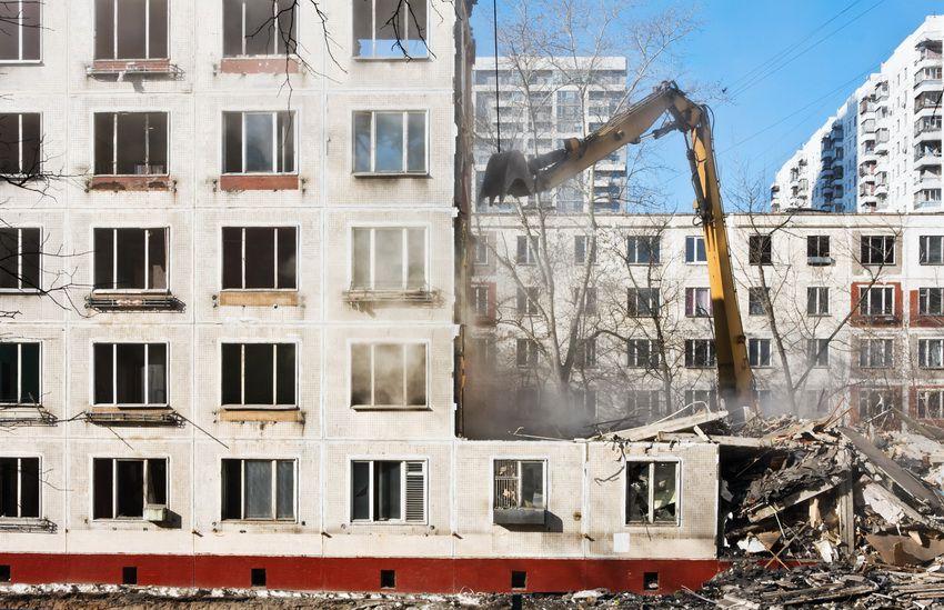 Программа сноса ветхих пятиэтажек в Москве в 2018 году - список адресов и домов