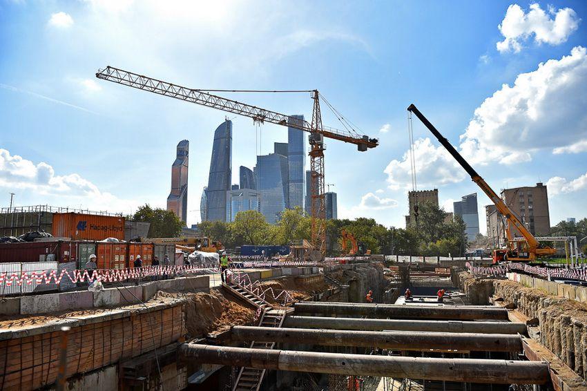 строительство новой станции метро в Москве