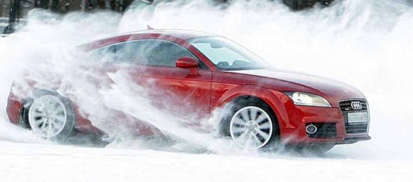 Урок экстремального вождения в качестве новогоднего подарка