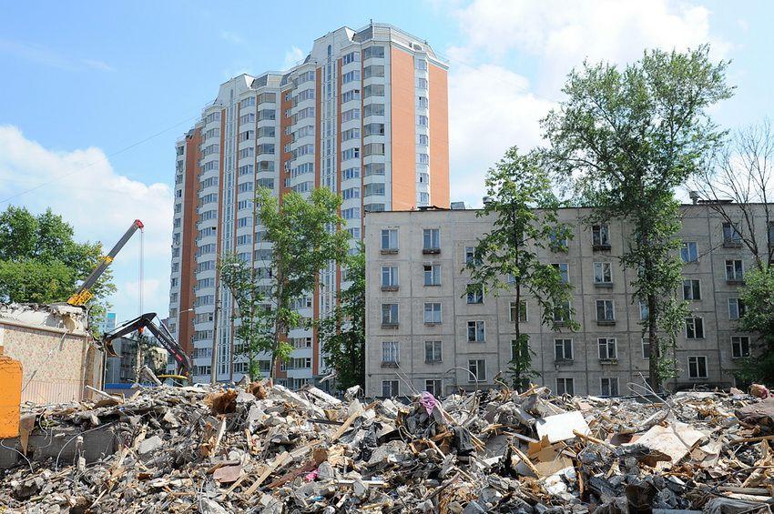 вторая волна сноса пятиэтажек в Москве - программа на 2018 год