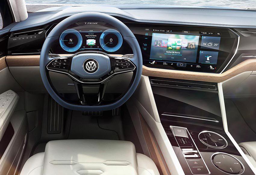 Volkswagen Touareg 2018 года - фото интерьера нового Фольксваген Туарега