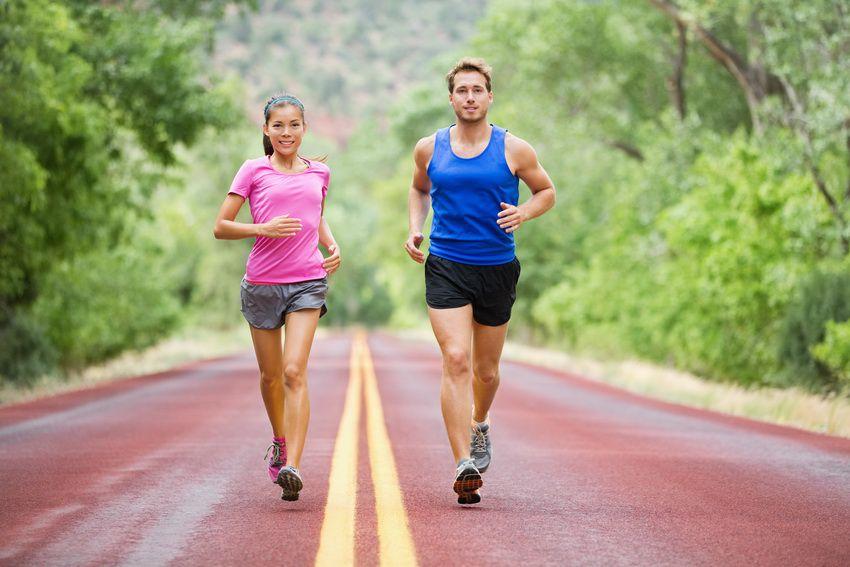 занятия бегом - гороскоп здоровья на 2018 год для Стрельцов