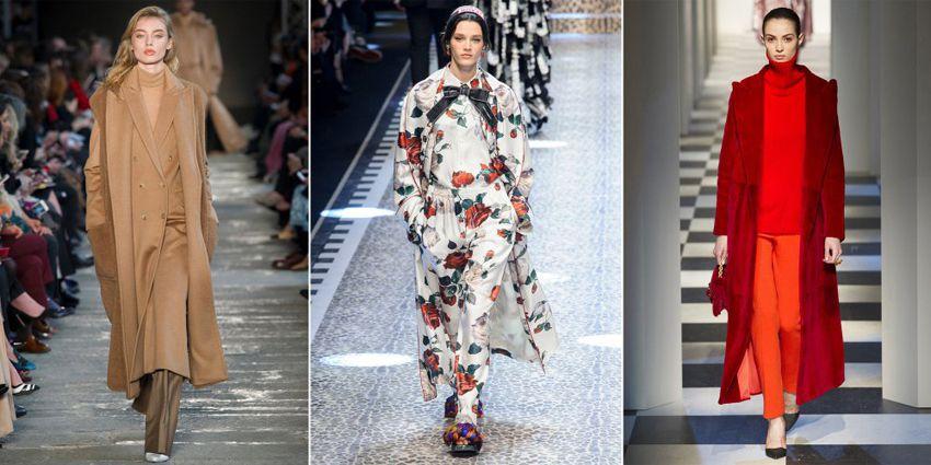 Модные пальто осень зима 2018 года - тенденции женской верхней одежды