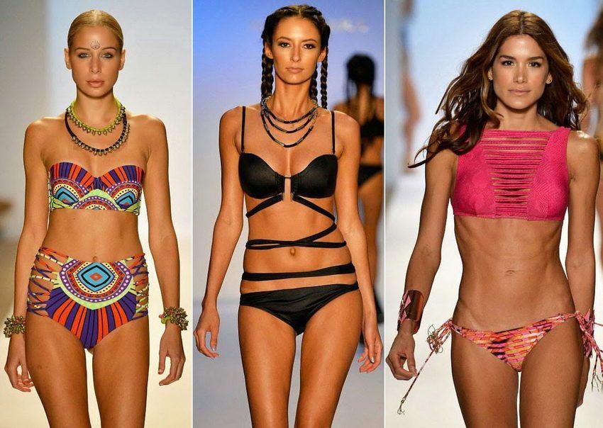 какие купальники будут носить в 2018 году - модные тенденции, фото