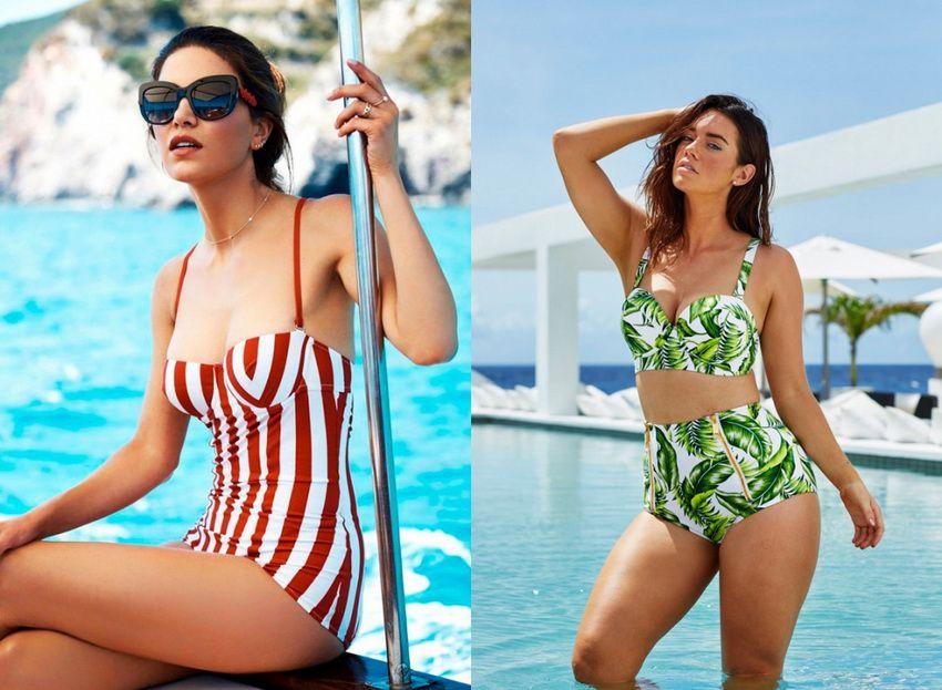 купальники в стиле ретро - мода 2018 года