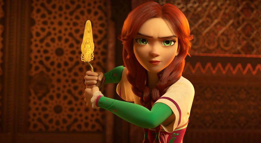 Мила из мультфильма Украденная принцесса