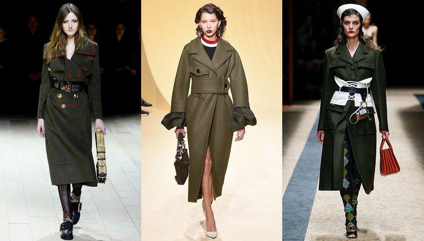 модные пальто в 2018 году - фото женских и мужских пальто 2017 года