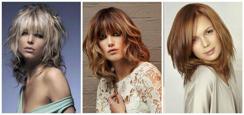 Модные стрижки на средние волосы - 2018-2017 года