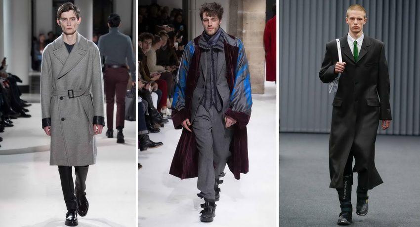 Модные тенденции мужского пальто 2018 года осень-зима