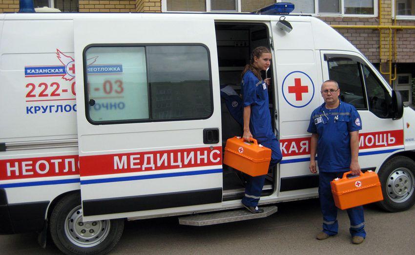 скорая помощь в КазаниСкорая помощь в Казани - как вызвать с мобильного телефона, с городского, частная скорая помощь