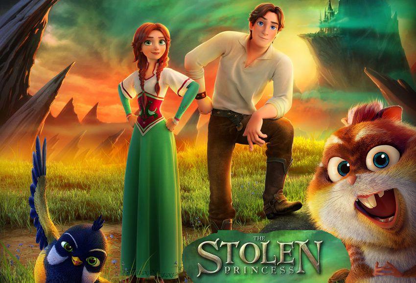 Украденная принцесса - мультфильм 2018 года, актеры, дата выхода фильма
