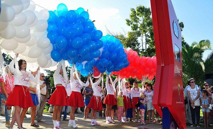 Церемония открытия часов в Волгограде