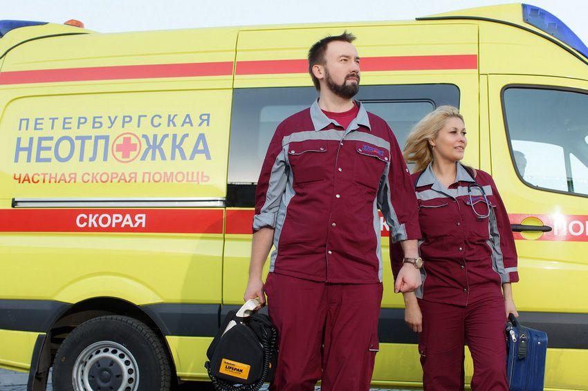 частная скорая помощь в СПб - номера телефонов