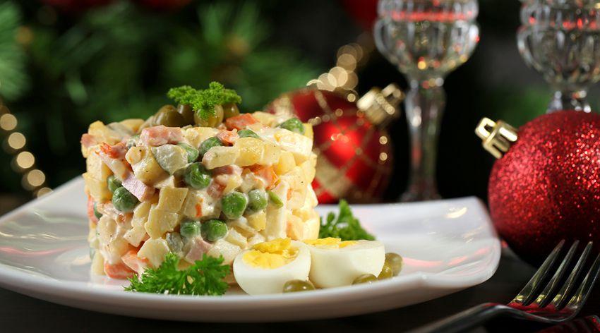 Оливье салат на новый год 2018