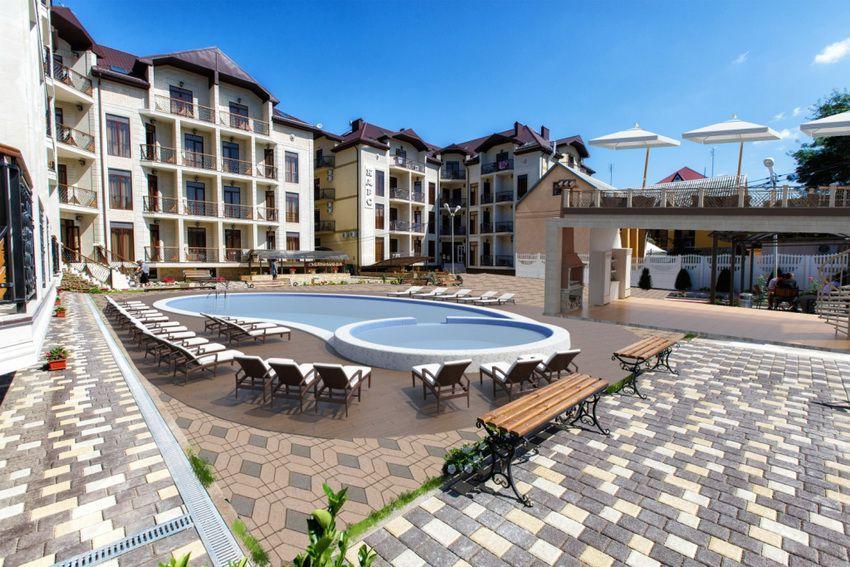 гостиницы в Дивноморском