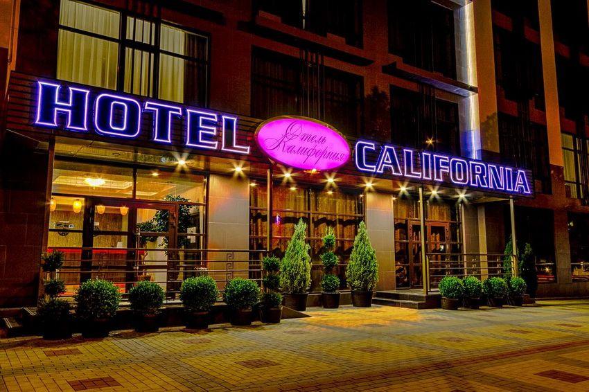 """отель """"Калифорния"""" в Геленджике"""