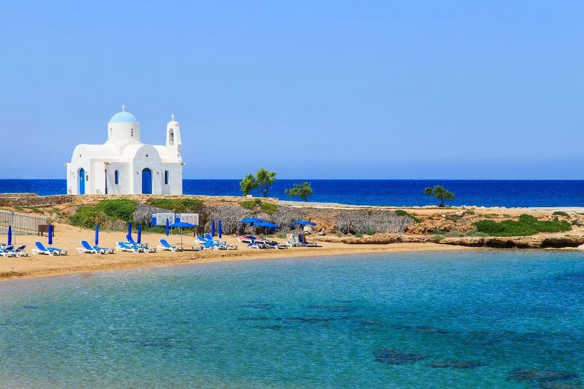 остров Протарас на Кипре