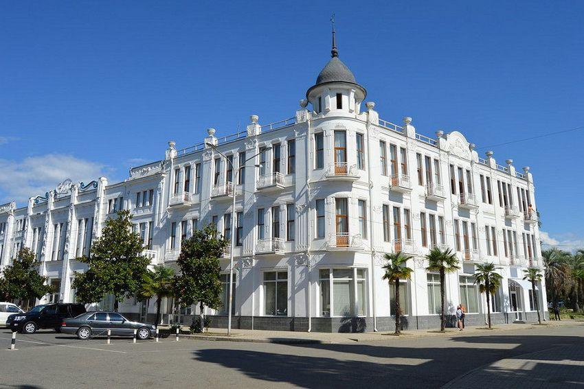 """отель """"Рица"""" в Абхазии"""